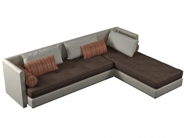 nomade convertible sofa 3d model ligne roset. Black Bedroom Furniture Sets. Home Design Ideas