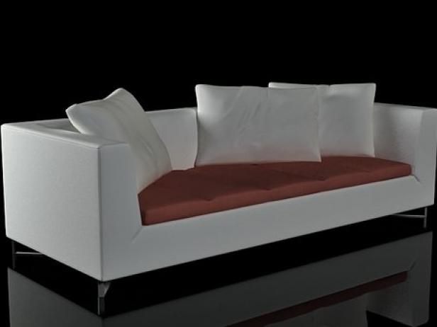 Feng Large Settee 3D-Modell | Ligne Roset