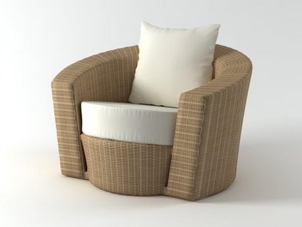 Hemisphere Lounge Chair 3d Model Dedon