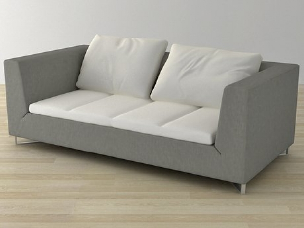 Feng Medium Settee 3d model | Ligne Roset