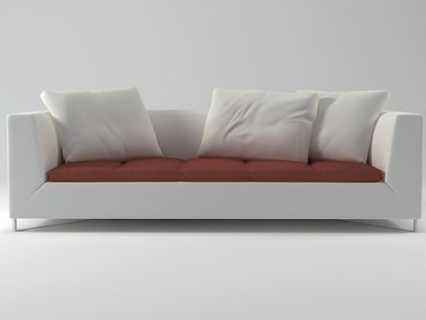 Feng Large Settee 3d model | Ligne Roset