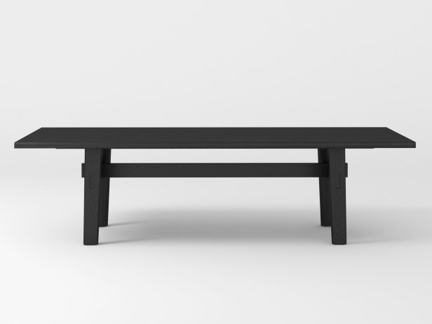 Home Hotel Rectangular Dining Table 1