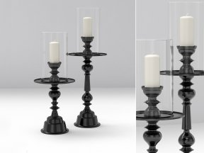 Muse Design Hurricane Candle Holders