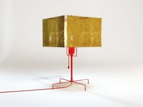 24 Karat Table Lamp