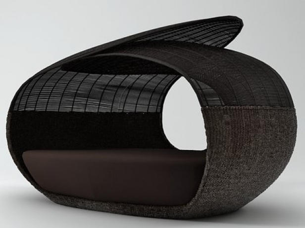 Spartan Daybed Open Weaved Top 2