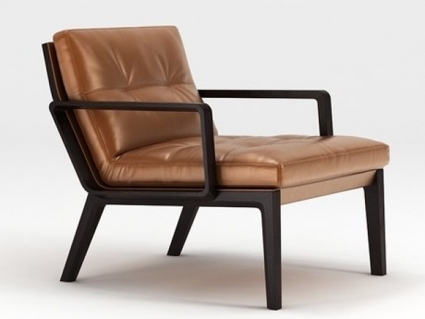 Andoo Lounge Chair 3d Modell Walter Knoll