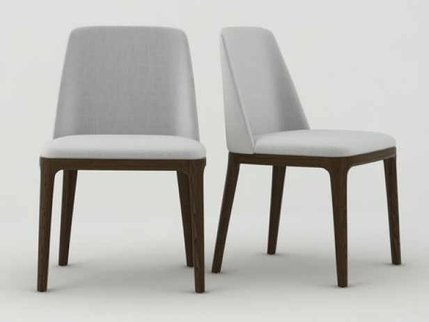 Grace Chair 3d Model Poliform