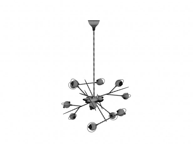 Cosmo Chandelier 5