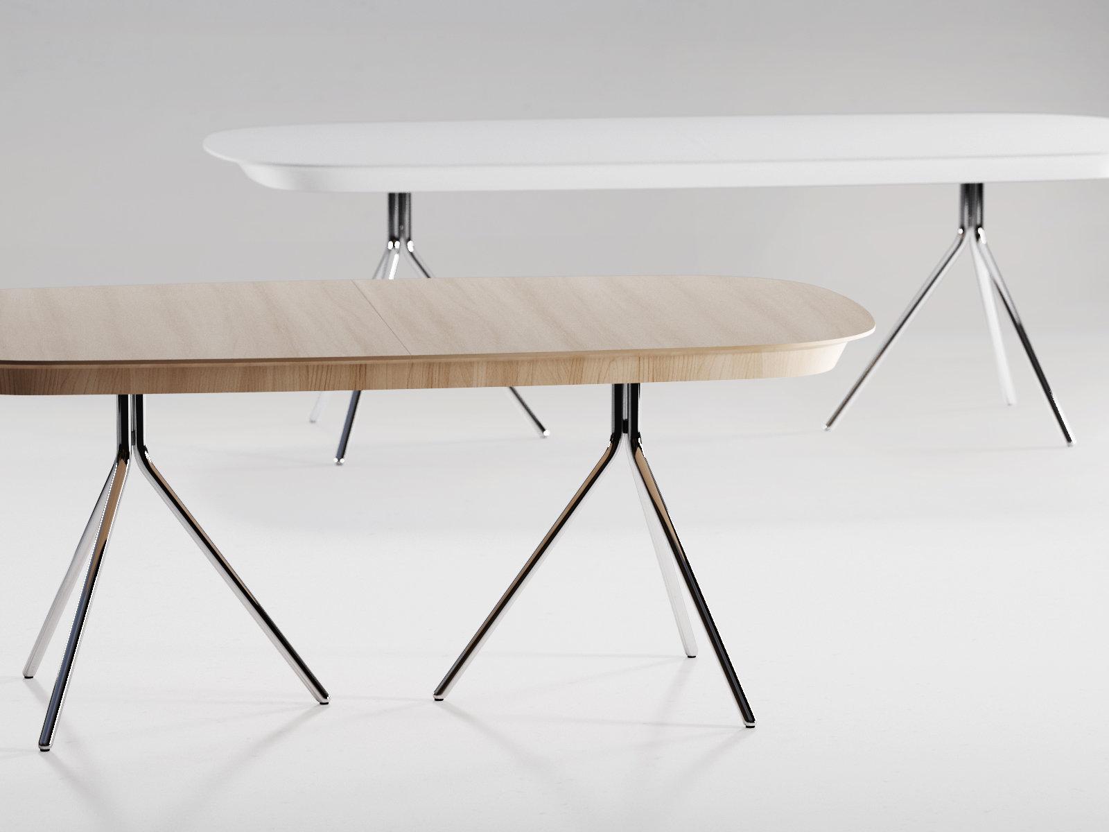 ottawa table 3d model boconcept. Black Bedroom Furniture Sets. Home Design Ideas