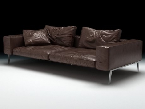 lifesteel sofa 3d model flexform. Black Bedroom Furniture Sets. Home Design Ideas