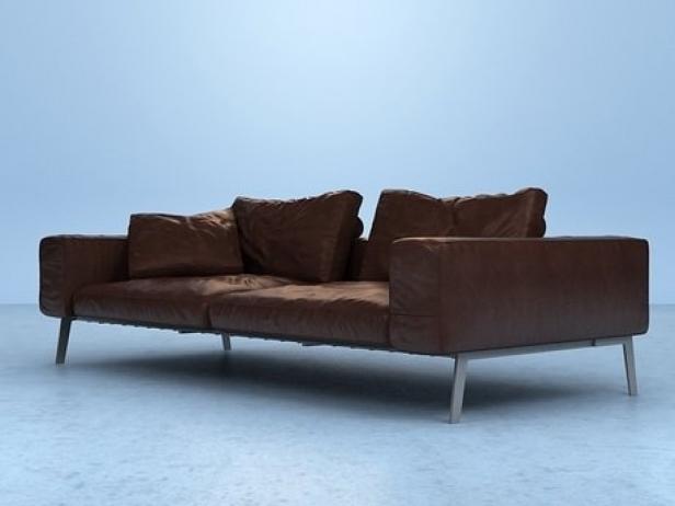 lifesteel sofa 3d modell flexform. Black Bedroom Furniture Sets. Home Design Ideas