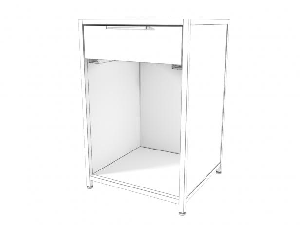 Dita Bedside Cabinet 3