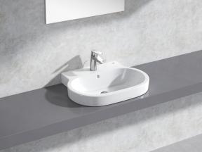 Eurocosmo Countertop Basin 60 Set