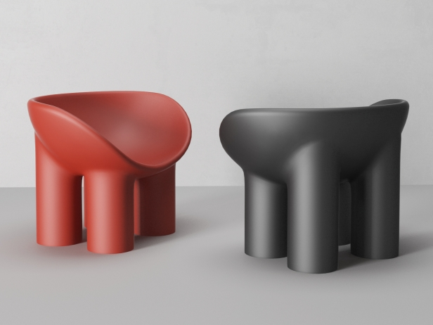 Roly Poly Chair 3d Model Driade Italy
