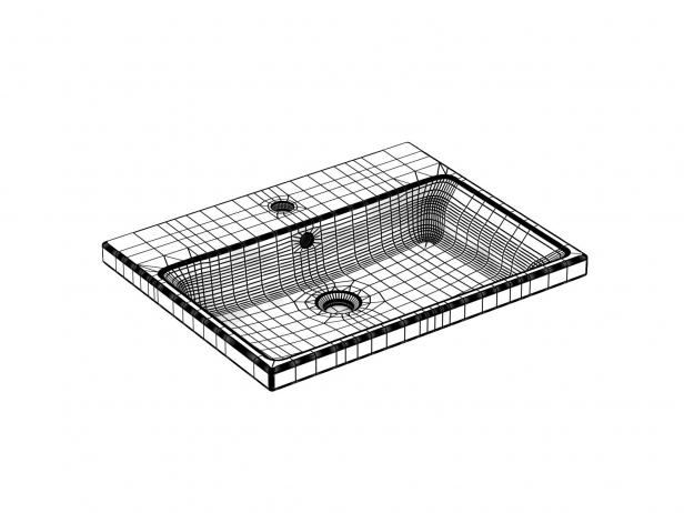 Eurocube Built-in Basin 60 Set 6
