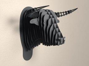 CARDBOARD SAFARI Toro Cardboard Bull Head