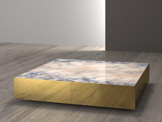 Elliott Large Square Table 3d Model Minotti Italy