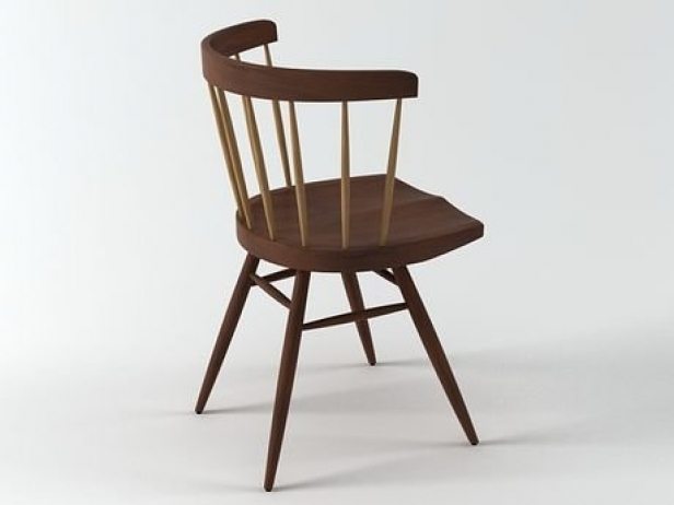 Nakashima Straight Chair 4