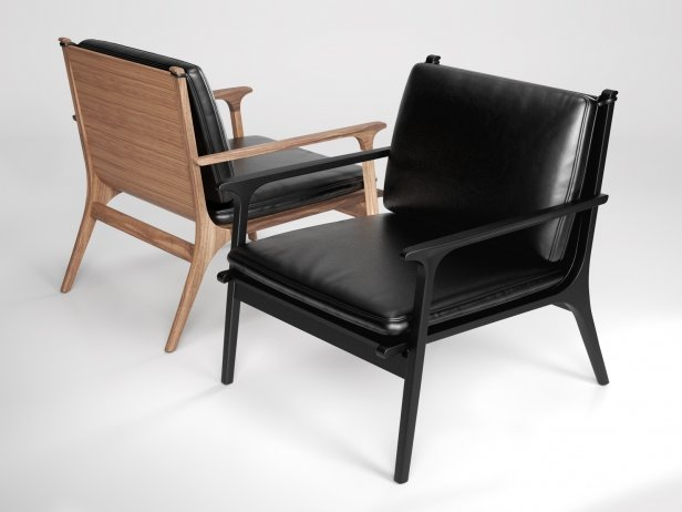 Ren Lounge Chair Large 3d Model Stellar Works