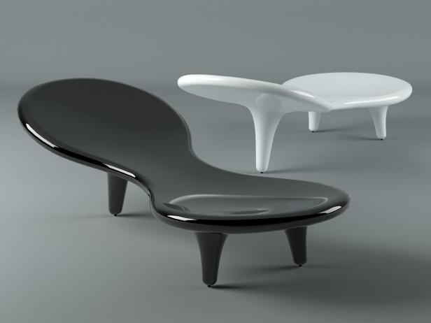 Orgone 1 & Orgone 3d model | Cappellini