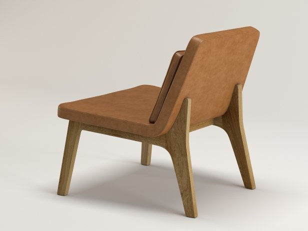 Lean Lounge Chair 6