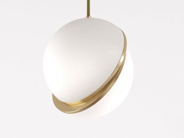 Crescent Pendant Light 2