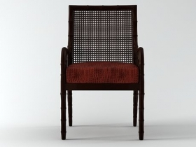China Bay Cane Occasional Chair