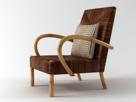 Serengeti Rope Club Chair