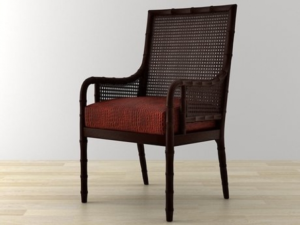 China Bay Cane Occasional Chair 2