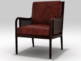 China Bay Cane Armchair
