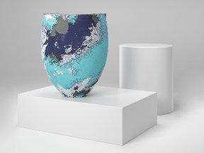 CLARE CONRAD Scooped Rim Vase