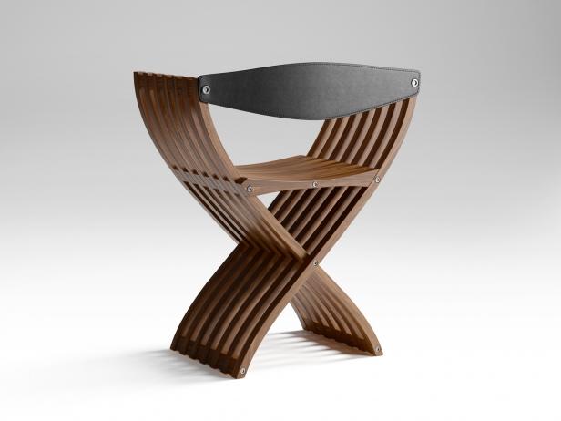 Curule Folding Chair 3