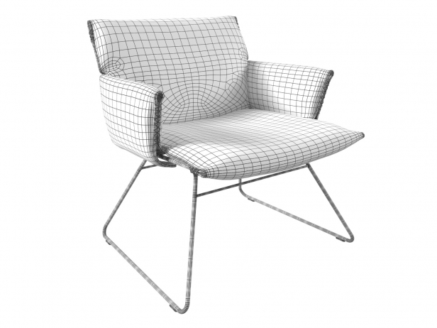 DS-515 Lounge Chair with Armrests 11