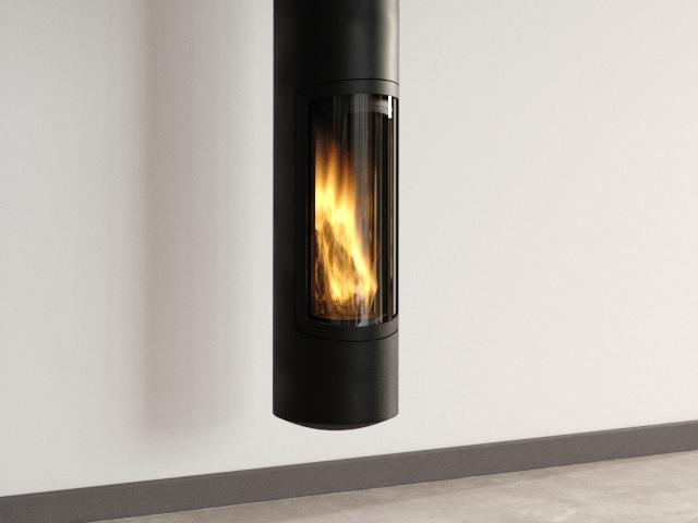Slimfocus Suspended Fireplace 4