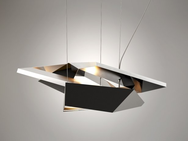 Polygon Crash Pendant Light 1