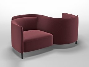Hemicycle Conversation Chair