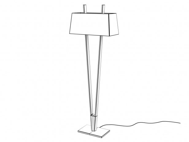V-Lamp Floor 4
