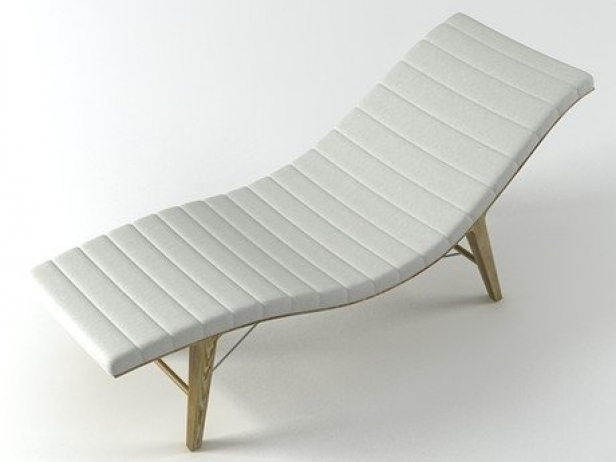 Chaise longue 3d model arthur casas for Casa chaise longue
