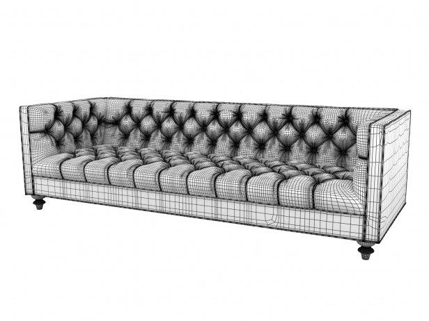 007 Navy Sofa 3