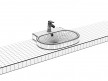 Eurocosmo Countertop Basin 60 Set 9
