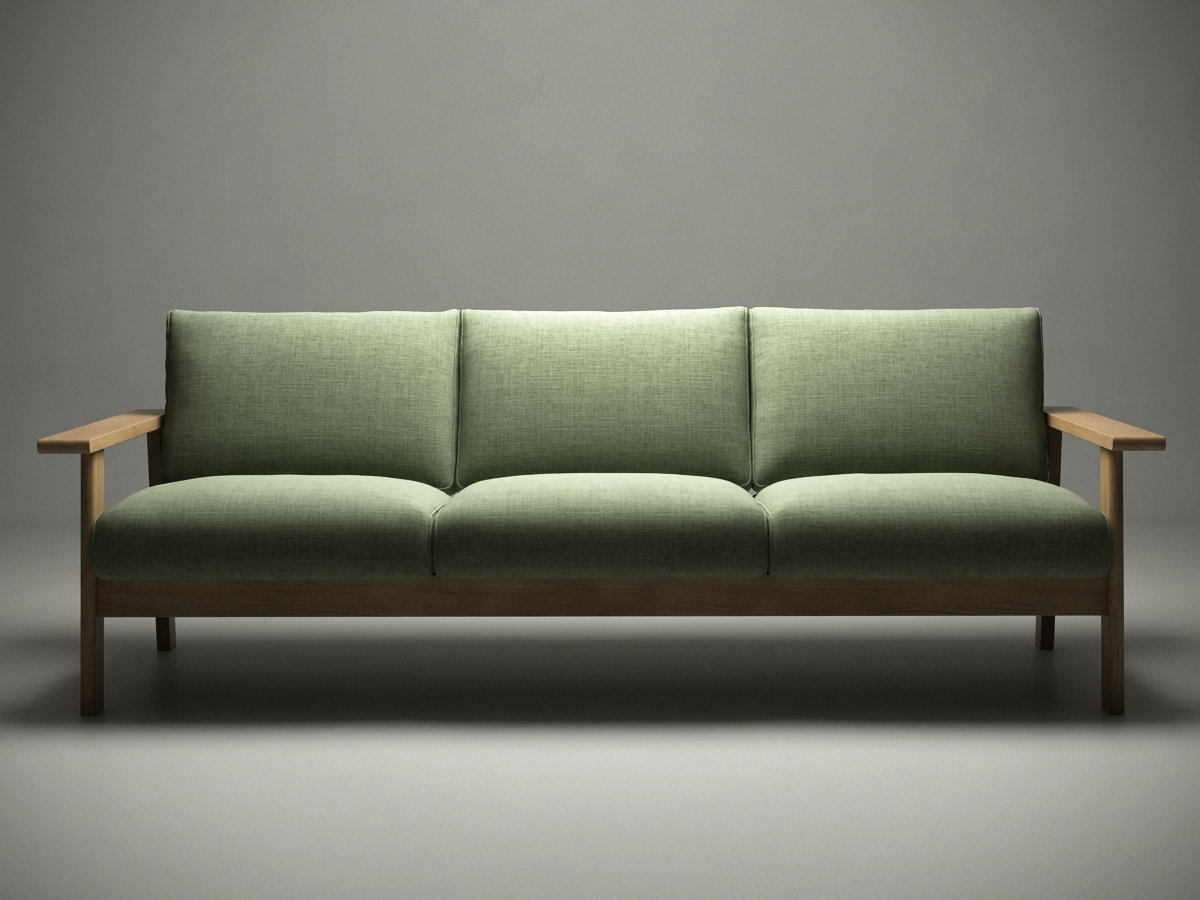 Bruno Sofa 3d Model Maruni