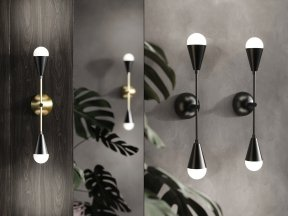 Dyad Sconce Lamp