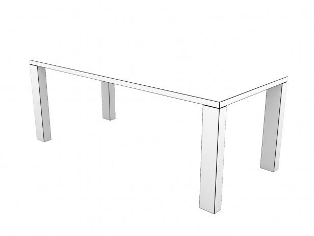 DS-777 Dining Table Composite 13