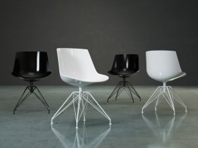 Flow Chair 4-legged LEM