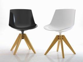 Flow Chair VN 4-legged oak