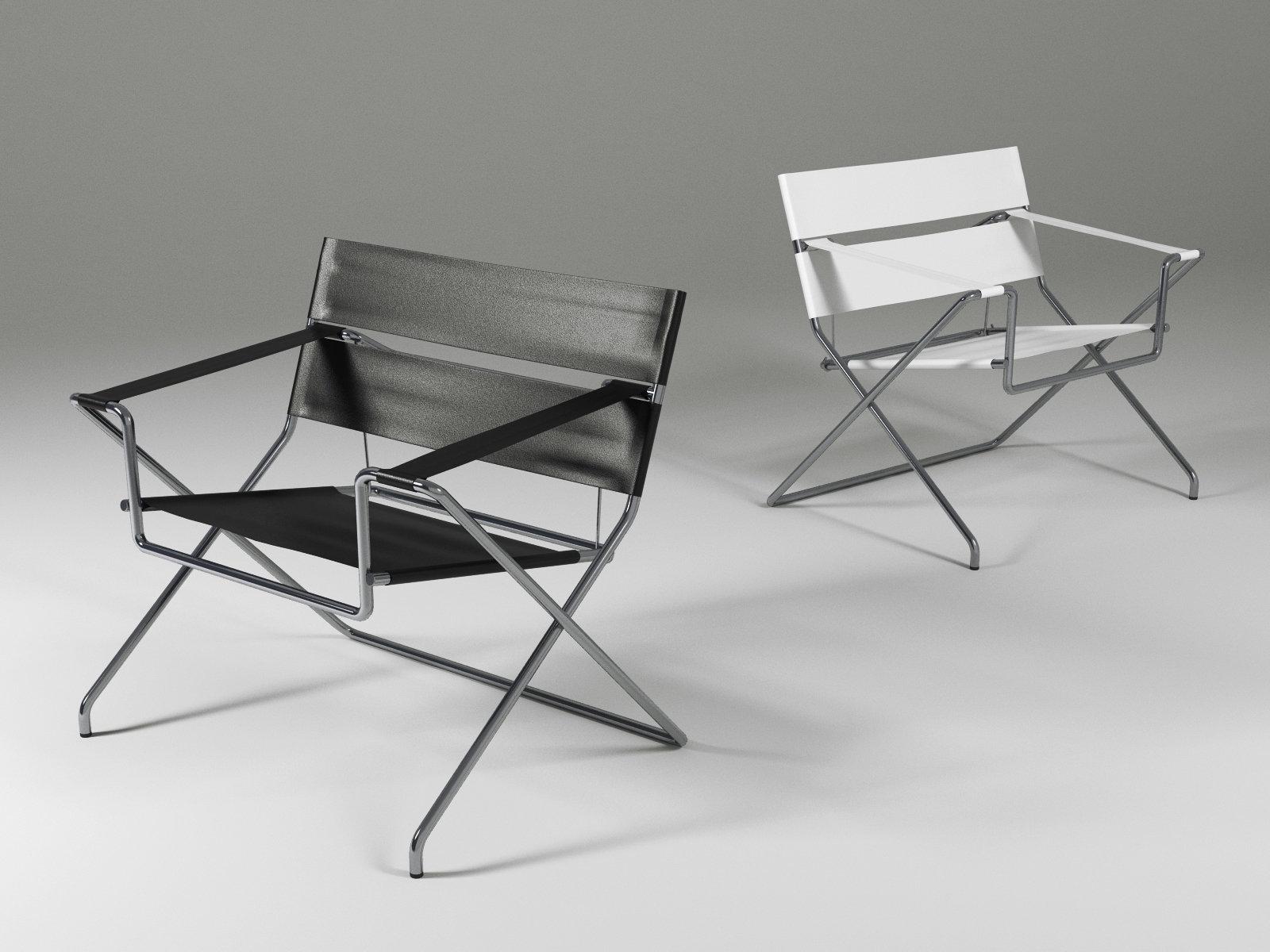 D4 Bauhaus Chair 3d Model Tecta