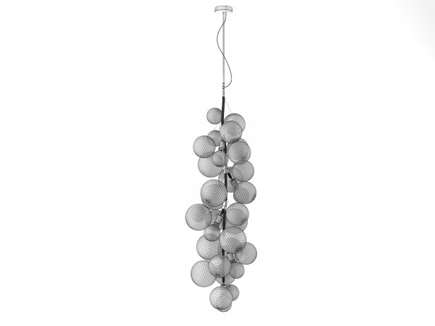 X-Tall Bubble Chandelier 3