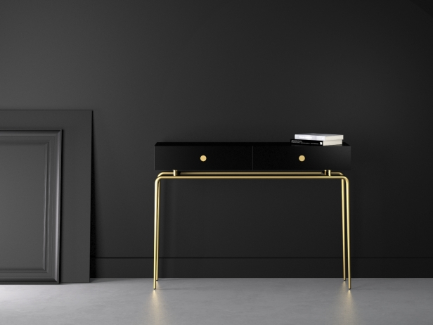 Debourgeoisee Console Table 3d Model Ligne Roset