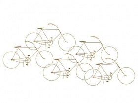 Bicycles Wall Sculpture
