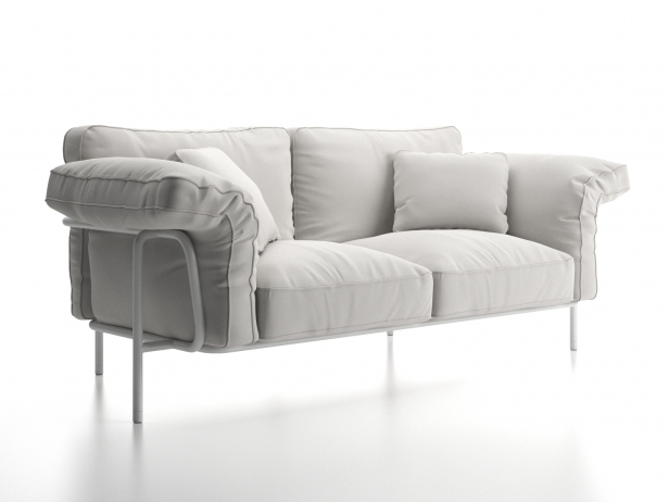 DS-610 2-Seater Sofa 2